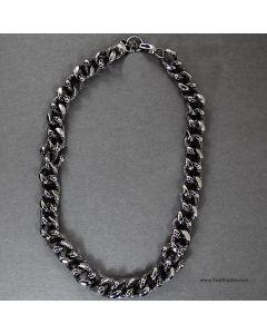 stainless steel heavy duty chain bracelet
