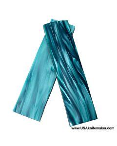 "Kirinite (TM) - Teal Blue - 3/8"" Thick"