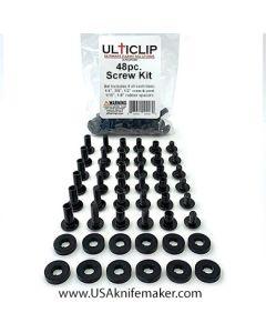 Ulticlip 48 Piece Screw Kit Ulticlip