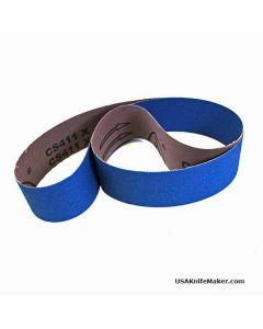 """Zirconium Aluminum 2""""x48"""" belt"""