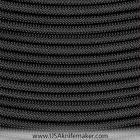 Paracord - Black - Commercial- 550 - Nylon Paracord