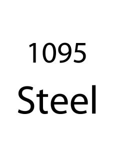 "1095 Bar Stock Steel .135"" Thickness - See Length Note"