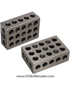 Steel 1-2-3 Blocks pair