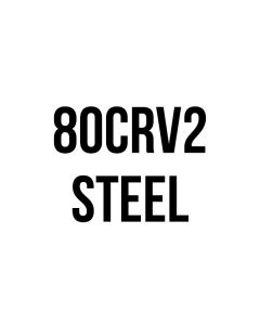 "80CRV2 Steel - .268"" Thickness - See Length Note"