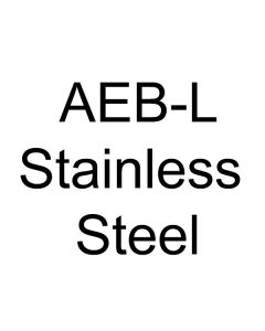 "AEB-L Stainless Steel .187"" Thickness - See Length Note"