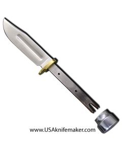 "Hunting Knife Blade Blank 006 - 440C Steel - 8 3/8"" OAL"