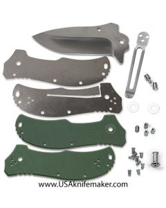 KMS Liner Lock K1313 Flipper Knife Kit - Satin