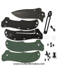 KMS Liner Lock K1313 Flipper Knife Kit - Stonewashed