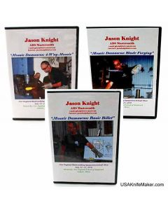 Jason Knight Damascus 3 DVD Set