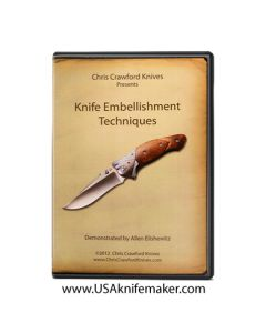 Knife Embellishment Techniques featuring Allen Elishewitz