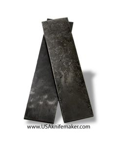 "Carbon Fiber - Black Marble Iridium 5/32"" - Knife Handle Material"