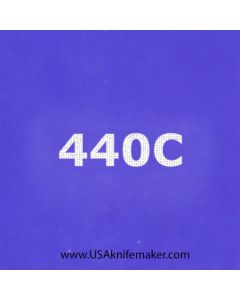 "Stencil -""440C"" - one image - approx 1"" x 2 1/2"" in size"