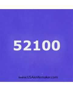 "Stencil -""52100"" - one image - approx 1"" x 2 1/2"" in size"