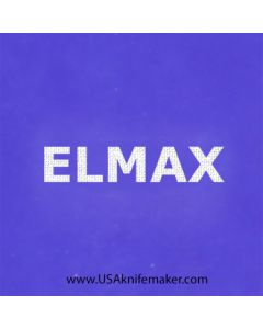 "Stencil -""ELMAX"" - one image - approx 1"" x 2 1/2"" in size"