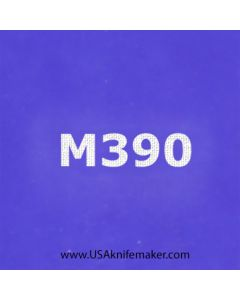 "Stencil -""M390"" - one image - approx 1"" x 2 1/2"" in size"