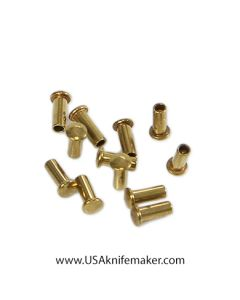 "Cutler Style Rivets - S227 -.15"" OAL, .05 Shaft Diameter - 25 pack"