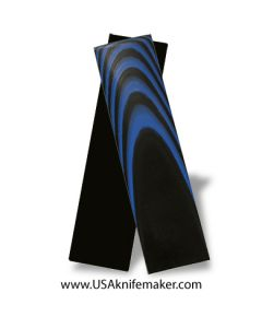 "UltreX™ G10 - Black & Blue 3/16"" - Knife Handle Material"