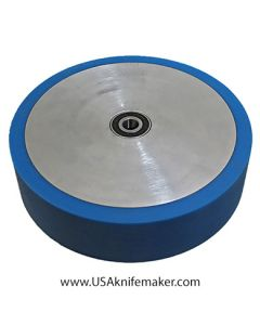 "Wheel - Contact wheel 8""x2"" Poly 60 duro BLUE"