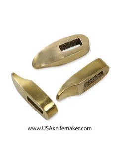 """Guard - Brass Finger Guard 1.40""""L x .5""""W"""