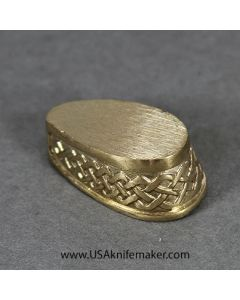 Braided Pommel - Bronze