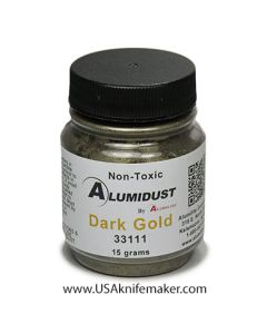 Alumidust Metallic Powder - Dark Gold