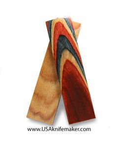 "DymaLux Americana 3/8"" x 1.5"" x 6"" pair of scales"