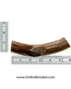 Red Stag Beam Knife Handle Material #1308