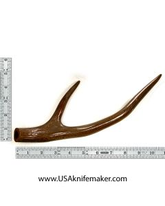 Red Stag Fork Knife Handle Material #1202