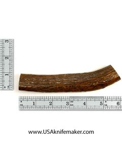 Red Stag Stick Knife Handle Material #1573