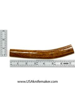 Red Stag Stick Knife Handle Material #1592