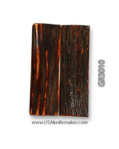 """Stag Scales Amber Dyed Approx 3"""" x 1"""" #GR3010"""