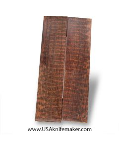 "Snakewood Scales #1046 - .365"" x 1.55"" x 6.75"" - Knife Handle Material"