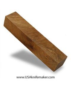 """Thuya Burl Block #2021  - 1 5/16"""" x 1 5/16"""" x 7 1/8"""" wood block"""