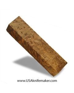 "Thuya Burl Block #2047 - 1 3/8"" x 1 3/4"" x 7 1/4"" - Knife Handle Material"