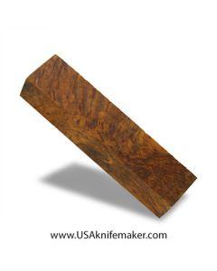 "Thuya Burl Block #2058 - 1 3/8"" x 1 3/4"" x 7 1/4"" - Knife Handle Material"