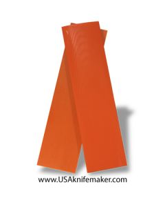 "UltreX™ G10 - Hunter Orange 1/4"" - Knife Handle Material"
