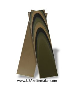 "UltreX™ SureTouch™ - 3 Color Camo 3/8"" - Knife Handle Material"