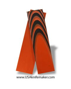 "UltreX™ SureTouch™ - Black & Orange 3/16"" - Knife Handle Material"