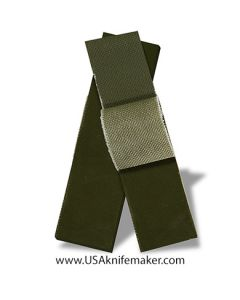 "G10 - PEEL PLY COARSE OD Green 1/4"" - Knife Handle Material"