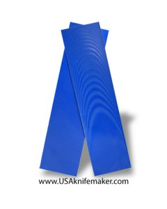 "UltreX™ G10 - Blue 1/4"" - Knife Handle Material"