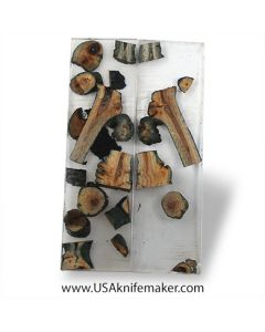 "Hybrid Wood- Grapevine- Scales- #063 - .375"" x 1.75"" x 6"""
