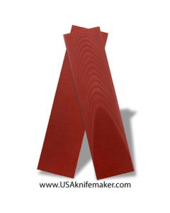 "UltreX™ Linen - Red - 3/16"" - Knife Handle Material"
