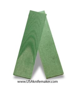 "TeroTuf Green 1/4"" - Knife Handle Material"