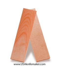 "TeroTuf Orange 1/4"" - Knife Handle Material"