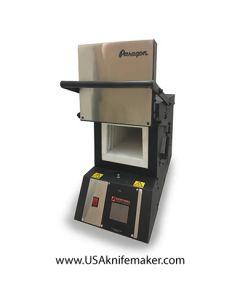 "Paragon KM18T Furnace Pro 3 Zone Heat Treating Furnace 6.5""W x 18""D x 5.25""H"
