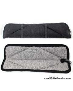 "Knife Case K4 Zip Fabric 14"" x 2.5"""
