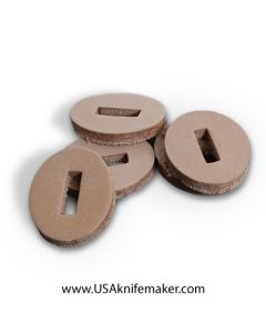 Spacer Washers - Leather Stacking Washers for Leather Handle