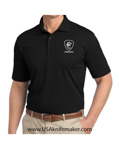 Port Authority Polo USA Knifemaker - Mens - Black-Small