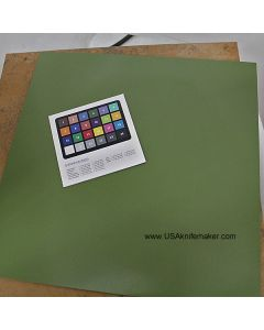"Boltaron OD Green .090""-Hair Cell Texture"