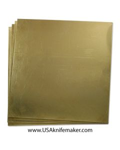 Brass sheet 260 - .020-.025-.040 thick